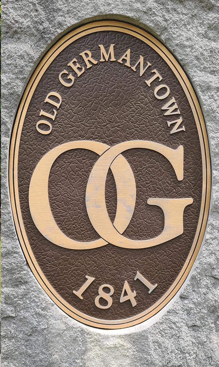 Old Germantown Marker- Original 1 sq mile